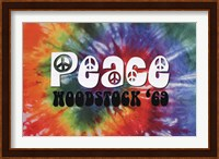 Woodstock - Peace Wall Poster