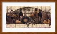 Wine, Fruit, 'N Cheese Pantry Fine Art Print