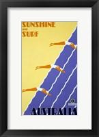 Australia - Sunshine and Surf Fine Art Print