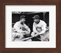 Lou Gehrig & Babe Ruth Posed Fine Art Print