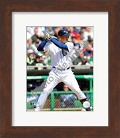 Carlos Guillen 2009 Batting Action Fine Art Print