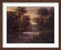 Lagoon At Daybreak Fine Art Print