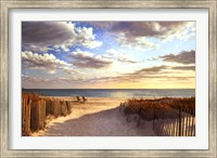 Sunset Beach Fine Art Print