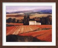 Les Cypres Fine Art Print