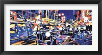 Black Cabs, London Fine Art Print