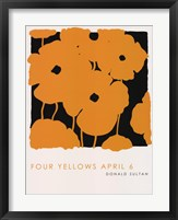 Four Yellows April 6 Fine Art Print