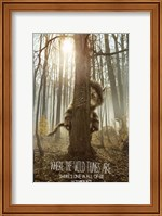Where the Wild Things Are - style B Fine Art Print