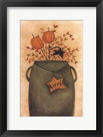 Pumpkin Sticks & Pips Fine Art Print
