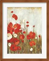 Poppie in the Wind Fine Art Print