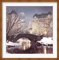 Twilight in Central Park Fine Art Print
