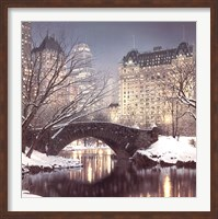 Twilight in Central Park Fine Art Print