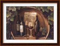 At the Winery Fine Art Print