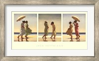 Summer Days Triptych Fine Art Print