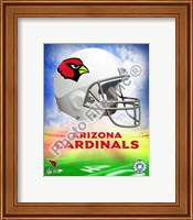 2009 Arizona Cardinals Team Logo Fine Art Print