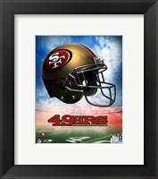 2009 San Francisco 49ers Team Logo Fine Art Print