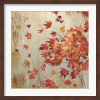 Crimson Foliage Fine Art Print