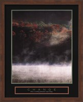Change - Misty Lake Fine Art Print