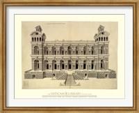 Facade d'un Palais, (The Vatican Collection) Fine Art Print