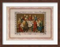 Souvenir De Premiere Communion, (The Vatican Collection) Fine Art Print