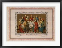 Souvenir De Premiere Communion, (The Vatican Collection) Fine Art Print
