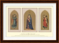 Madonna and Child Triptych, (The Vatican Collection) Fine Art Print