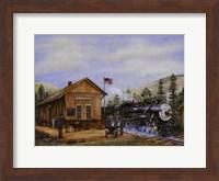 Pine Valley Station Fine Art Print
