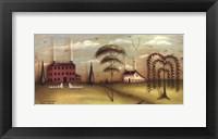 Sunrise in Durham Fine Art Print
