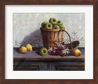 Green Apples and Lemons Fine Art Print