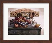 Good Morning Plaque Fine Art Print