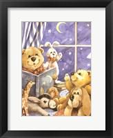 Teddy Bear Storytime Fine Art Print