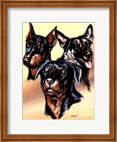 Dog Collage I Fine Art Print
