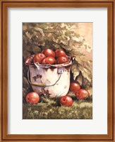 Pail of Apples Fine Art Print