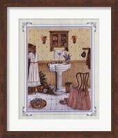 Her Bathroom Fine Art Print