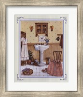 Her Bathroom Fine Art Print