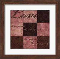 Love in Pink Fine Art Print