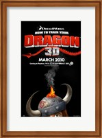 How to Train Your Dragon - style A Fine Art Print
