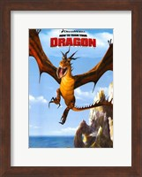How to Train Your Dragon - style D Fine Art Print