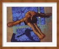 Olympic Diver Fine Art Print
