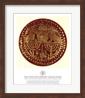 Gold Lions, (The Vatican Collection) Fine Art Print