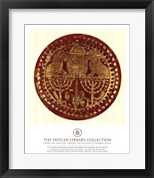 Gold Lions, (The Vatican Collection) Fine Art Print