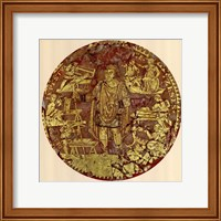 Gold Figure, (The Vatican Collection) Fine Art Print
