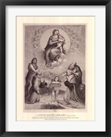 Madonna de Foligno, c.1511, (The Vatican Collection) Fine Art Print