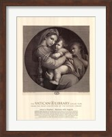 Madonna of the Chair, c.1514, (The Vatican Collection) Fine Art Print