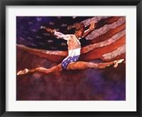 Olympic Gymnast Fine Art Print