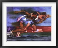 Olympic Track and Field Fine Art Print