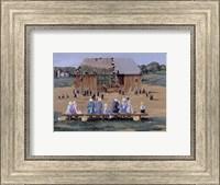 Barn Raising Fine Art Print