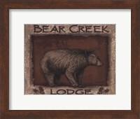 Bear Creek- mini Fine Art Print