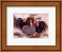 Rooster Trinity Fine Art Print