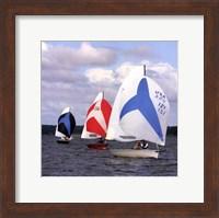 Water Racing I Fine Art Print