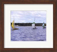 Water Racing III Fine Art Print